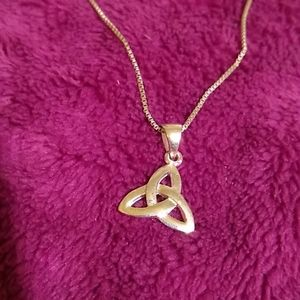 Jewelry - Sterling Silver Trinity Celtic Knot Pendant